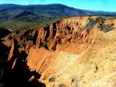 Cárcavas Alpedrete de la Sierra y Cerro Negro; chorrera del hornillo rutas senderismo guadarrama eq